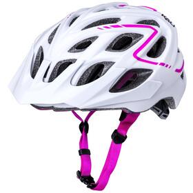 Kali Chakra Plus Cykelhjelm, matte white/pink